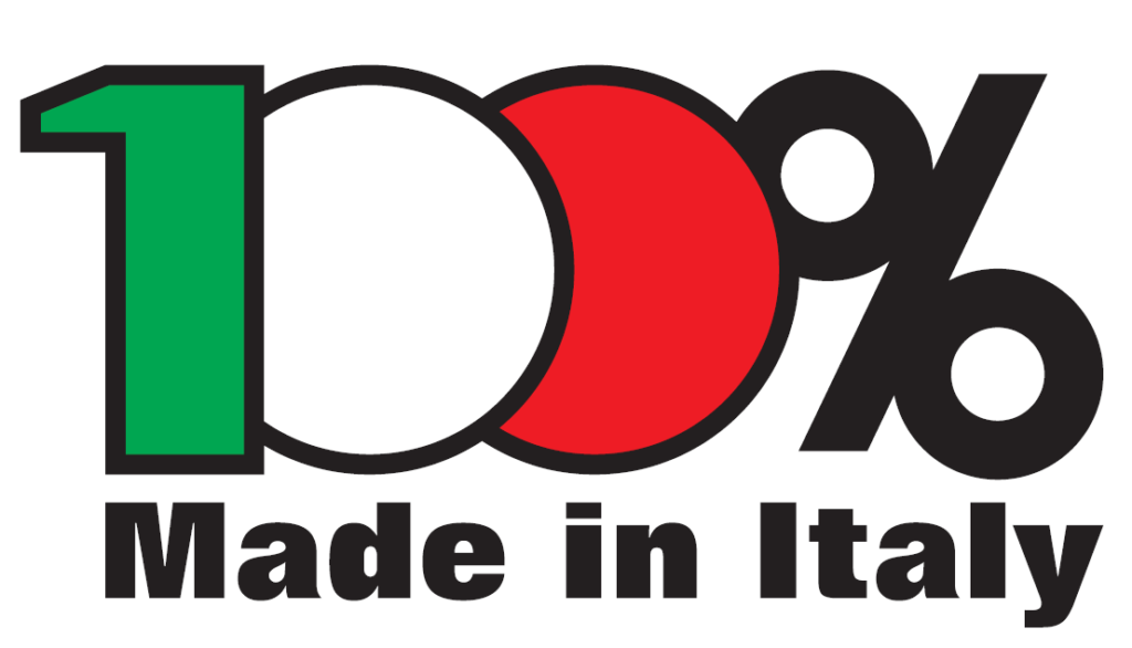 logo 100% made in italy