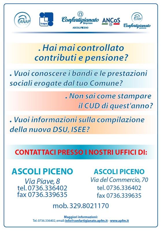 Volantino Via Piave 8 02-02-2015