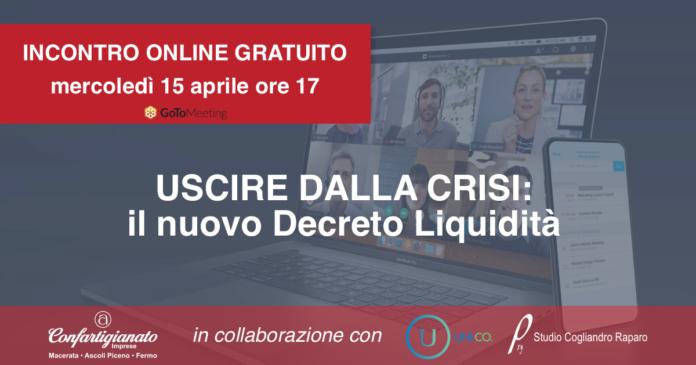 formazione online Decreto Liquidità